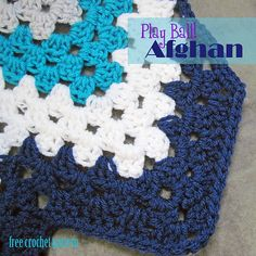 Ravelry: Play Ball Afghan pattern by Melanie Smith