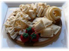 Pretend Play Kitchen - Felt Food Patterns - A Taste of Italy