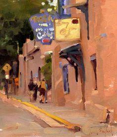 Kim English, Urban Landscape, Landscape Art, Landscape Paintings, Landscapes, Paintings I Love, Beautiful Paintings, Oil Paintings, Illustrations