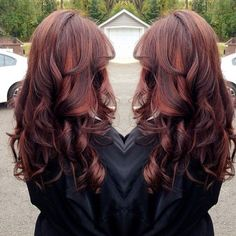 11 Best Auburn Hair Color Ideas 2017 - Page 4 of 13 - The Styles Red Highlights In Brown Hair, Red Brown Hair, Brown Hair Colors, Auburn Highlights, Auburn Balayage, Burgundy Hair, Red Hair, Hair Color Auburn, Auburn Hair