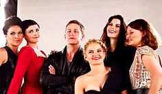 Once Upon a Time | Cast (gif)
