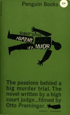 anatomy of a murder | saul bass
