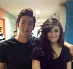 Agnes monica and siwon
