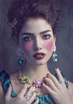Romantic Couture Editorials : Joanna Kustra Misty Dream