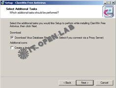 7.7 install Antivirus
