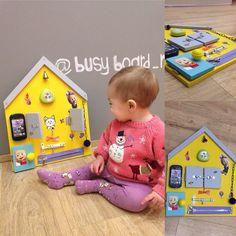 """Купить Бизиборд """"домик"""" - развивающая игрушка, развивающие игрушки, развитие мелкой моторики, развивайка"""