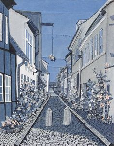 Helsingør - Denim art by Ian Berry (a.k.a Denimu)