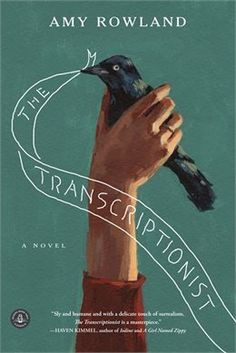 The Transcriptionist by Amy Rowland, book design by Anne Winslow. The Transcriptionist by Amy Rowland, book design by Anne Winslow. Buch Design, Design Art, Beautiful Book Covers, Cool Book Covers, Cool Books, Design Poster, Design Graphique, Book Cover Art, Grafik Design