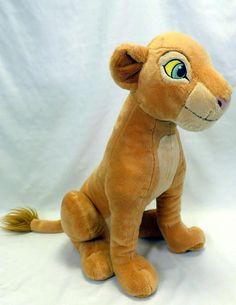 Disney Store Lion King Exclusive 16 Inch Deluxe Plush Figure Adult Nala #Disney