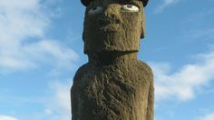 Discover Easter island & stand in the company of giants Easter Island, Culture Travel, Chile, Discovery, Statue, Explore, Chili Powder, Chili, Chilis