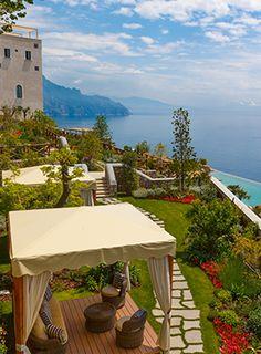 Amalfi Coast, Italy Monastero Santa Rosa - monasterosantarosa.com