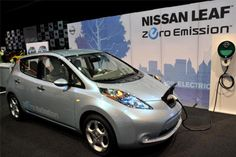 Nissan - Leaf All Electric Range of 76 miles Imagine life without going to the gas station.