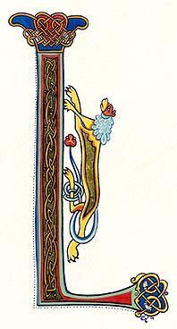 celtic knot letter r