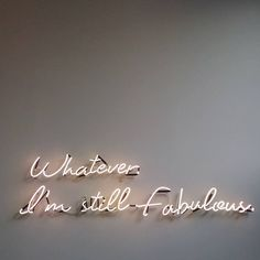Quotes and Motivation QUOTATION – Image : As the quote says – Description Whatever Neon Quotes, Motivational Quotes, Inspirational Quotes, Neon Lighting, Lighting Ideas, Lighting Design, Wall Lighting, The Words, Words Quotes