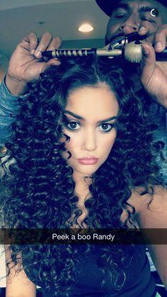 Madison pettis ❤️❤️ Curly Hair Tips, Curly Hair Styles, Natural Hair Styles, Curls Rock, Pretty Hair Color, Hair Heaven, Baddie Hairstyles, Hair Skin Nails, Hair Laid