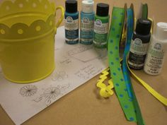 Learn how to paint on Tin #plaidcrafts #diy #crafts