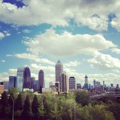 Atlanta Skyline... My favorite place on Earth.