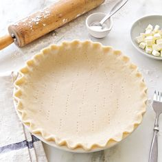 Store-bought pie dough is undeniably convenient, but there's satisfaction in making your own. This one comes together so easily you can make several at a time, and then stick the crusts in the free...