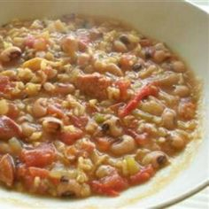#recipe #food #cooking Black-Eyed Pea Gumbo