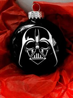Items similar to Darth Vader Ornament Star Wars Ornament Star Wars Darth Vader Darth Ornament Christmas Ornaments Ornaments for Boys on Etsy - Star Wars Vader - Ideas of Star Wars Vader - Darth Vader Ornament Star Wars Ornament Star by AnchorsAndAvocados Vinyl Ornaments, Disney Ornaments, Christmas Baubles, Diy Christmas Ornaments, Christmas Projects, Holiday Crafts, Star Wars Christmas Decorations, Star Wars Christmas Tree, Disney Christmas