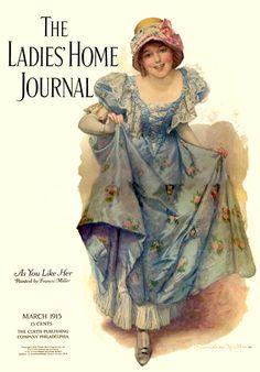 Ladies Home Journal - Lady in Blue
