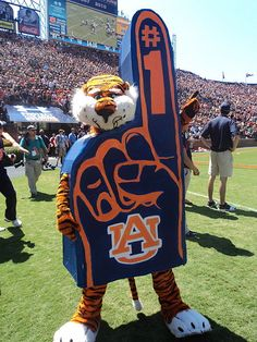 LOVE me some Aubie!