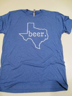 Texas beer t-shirt