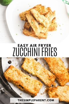 Make crispy zucchini fries in the air fryer with this easy recipe! Perfect side dish and delicious appetizer recipe! Yummy Appetizers, Appetizers For Party, Appetizer Recipes, Healthy Zucchini, Zucchini Fries, Easy Vegetable Side Dishes, Air Fryer Recipes, Side Dish Recipes, Party Planning