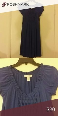 Beautiful Blue Dress Blue Dress with a beautiful design in the front Dress Barn Dresses