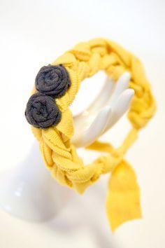 Jersey Knit Bangle Bracelet