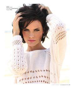 Jaimie Alexander in South Magazine, Oct/Nov 2013.