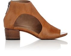 We Adore: The Asymmetric-Cutout Leather Ankle Boots from Marsèll at Barneys New York