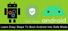 #Learn The #Steps To #Boot #Android Into #SafeMode. What Is #Safe #Mode On Android?. How To #BootAndroid #Phone Or #Tablet Into Safe Mode. How To #TurnOff Safe Mode On Android Phone/Tablet. Play Game Online, Settings App, Tablet Phone, Data Recovery, Turn Off, Android 4, I Am Happy, Learning, Boots