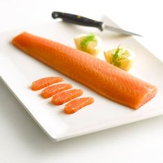 Salmon Sashimi, Salmon Fillets, Scottish Salmon, Homemade Sushi, Smoked Salmon, Raw Food Recipes, Main Dishes, The Cure, Food And Drink