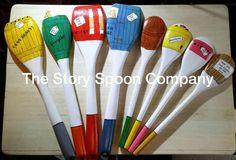 Dear Zoo Story Spoons