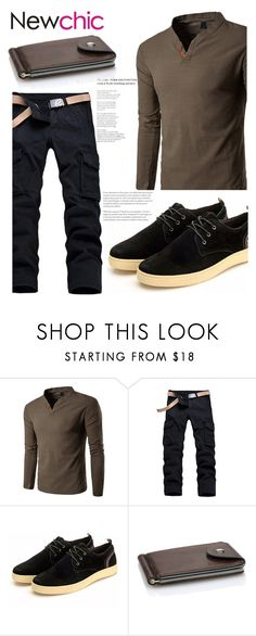 """""""164 Newchic"""" by erohina-d ❤ liked on Polyvore featuring men's fashion and menswear"""