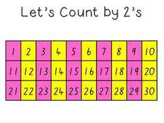 Lets Count!! {freebie}