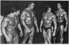 Franco, Arnold, Zan and Ferrigno