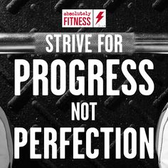No one's perfect. At Absolutely Fitness we celebrate every small achievement on the journey to a greater goal #Fitness #Gym #Motivation