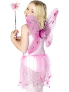 Looking for Green Butterfly Wings? Get it from our wholesale Girls Fancy Dress range today. Visits Smiffy's wholesale for all your Children's Fancy Dress needs today. Childrens Fancy Dress, Fancy Dress For Kids, Pink Butterfly, Butterfly Wings, Butterfly Fairy, Christmas Costumes, Halloween Costumes For Kids, Butterfly Halloween Costume, Winged Girl