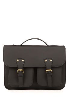 Available in numerous colours! <br> The Taylor satchel is the style to suit everybody. <br> Dimensions: 28cm x 35cm x 8cm <br> Composition: 100% PU <br/>