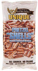Unique Pretzels Shells, Original, 10 Ounce (Pack of 12) - http://www.handygrocery.com/grocery-gourmet-food/snack-foods/pretzels/unique-pretzels-shells-original-10-ounce-pack-of-12-com/