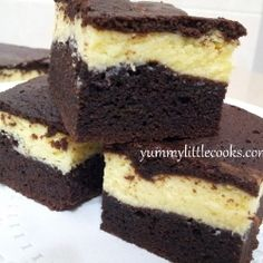 Cheesecake Brownie by yummylittlecook