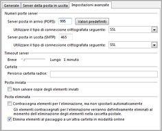 Parametri per la configurazione delle caselle PEC su Client di Posta