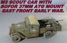 M3 Scout Car with Bofor 75mm ATG Mount East Front Early War (October 18, 2016)