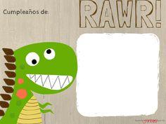 Letrero para comida o mas en una fiesta de dinosaurio. Haciendo mi arte. Solo tienes que imprimirla y rellenarla. #fiesta #Dinosaurios # Niños