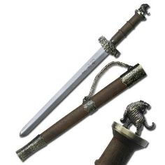 Sword of the Chinese Zodiac Year of the Ox Mini Sword w/ Sheath Zodiac Signs Aquarius, Chinese Zodiac Signs, Chinese Tiger, Tiger Facts, Samurai Swords Katana, Year Of The Tiger, Zodiac Years, Mini, Phoenix