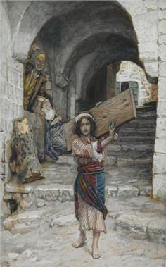 The Youth of Jesus, illustration for 'The Life of Christ' - James Tissot, c.1894, 214/450.