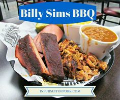 Billy Sims BBQ | Andover, Kansas | In Pursuit of Pork | #blog #barbecue #BBQ #ribs #restaurantguide #pork
