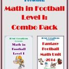 Down...Set...Hurry...Hurry...LEARN MATH!!!!  Football is one of the most popular and exciting sports in the world, and a wonderful way to teach and...